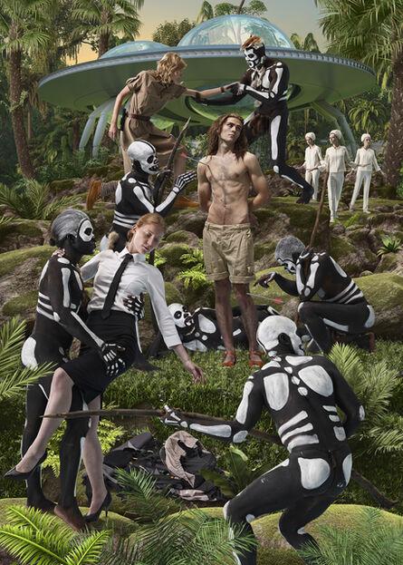 AES+F, 'Sebastian and Cannibals', 2013