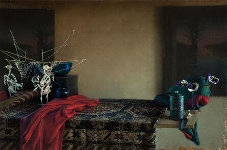 Daniel Sprick, 'Bird and Red Cloth', 2015