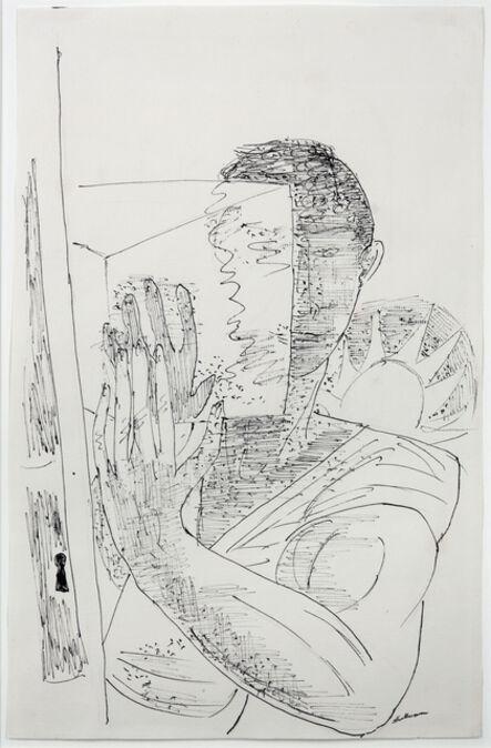 Max Beckmann, 'Der Eismann II', 1944