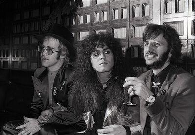 Michael Putland, 'Elton John, Marc Bolan & Ringo Starr', 1972