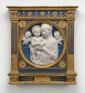 Andrea della Robbia, 'Madonna and Child with Cherubim'