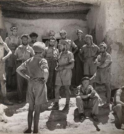 Cecil Beaton, 'MEMBERS OF THE LONG-RANGE DESERT GROUP, SIWA OASIS, WESTERN DESERT, EGYPT ', 1942