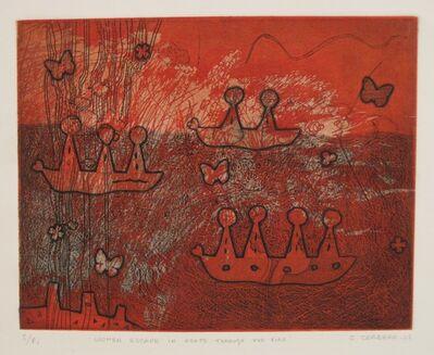 Christina Cordero, 'Women escape in boats through the fire', 2008
