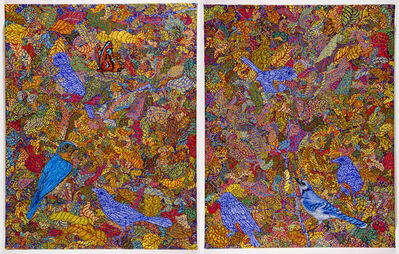 Katharine Kuharic, 'Bird and Jay', 2015