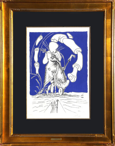 Salvador Dalí, 'Untitled from Les Songes Drolatiques de Pantagruel', 1973