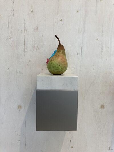 Yosuke Amemiya, 'Pear (cobalt blue turquoise & rose grey)', 2020