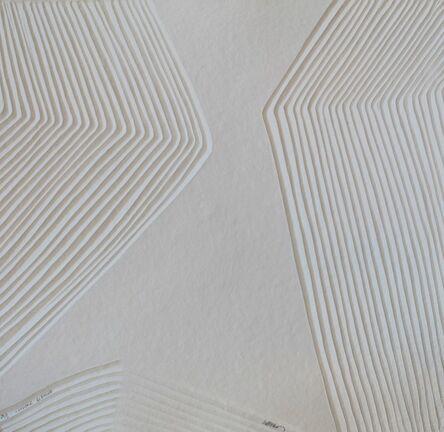 Bernard Alligand, 'aquagravure Lumière blanche -  on heavy handmade paper', 2018