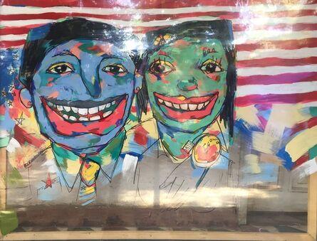 Workneh Bezu, 'Smile Portrait IV', 2016