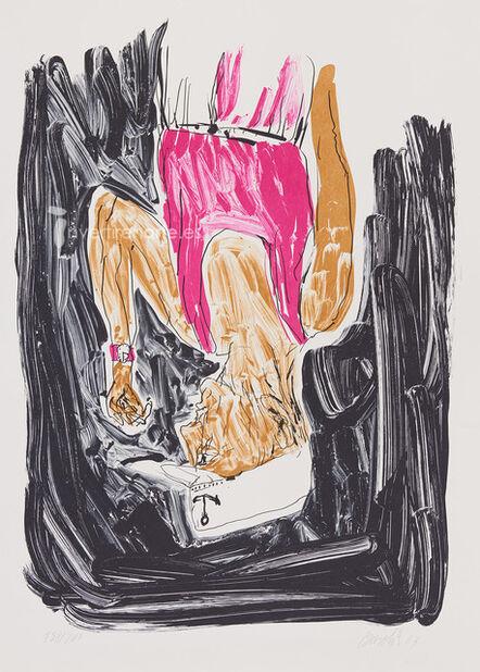 Georg Baselitz, 'Einer malt mein portrait', 2003