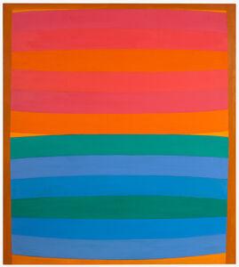 Michael Loew, 'Untitled (Red Horizon)', 1967