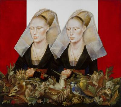 Igor & Marina, 'Lady with Unicorn (after Rogier Van der Weyden)', 2016
