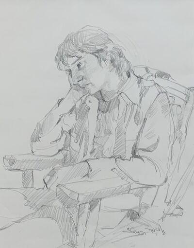 Arthur Shilling, 'Sitting Figure', ca. 1975