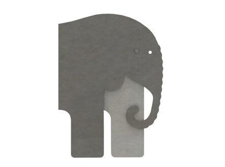 Rodolfo Díaz Cervantes, 'Elefante', 2018