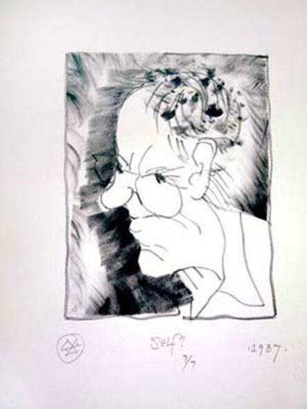 William King, 'Self (portrait)', 1987