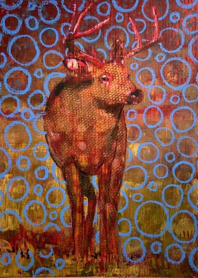 Les Thomas, 'Animal Painting 020-1870', 2020