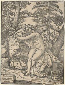 Niccolò Boldrini after Titian, 'Venus and Cupid', 1566