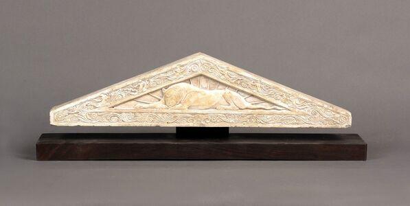 Gaston Lachaise, 'Sketch Model for a Pediment', 1916