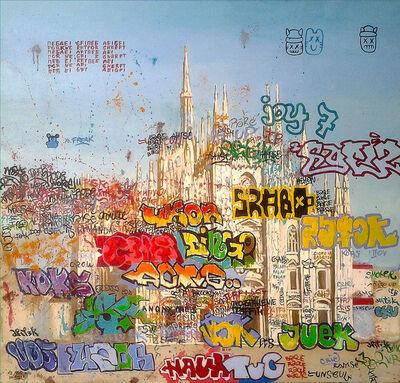 Julia Malinina, 'Project Transformation of Graffiti. №2 yo.freak.', 2014