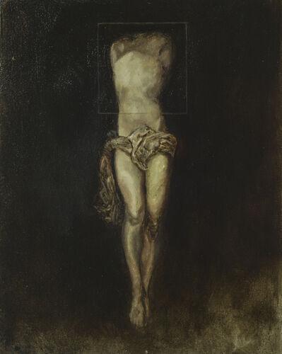 Jason Montinola, 'Square on Painting', 2014