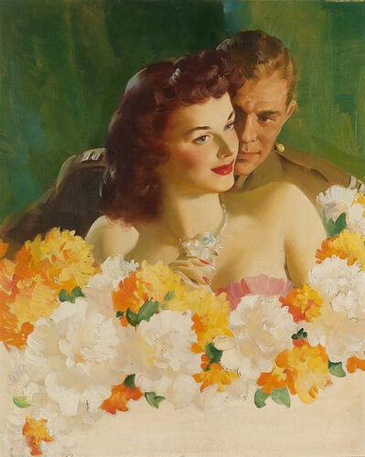 Haddon Sundblom, 'Cashmere Bouquet Soap Advertisement', 1945