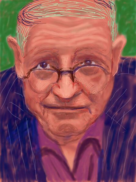 David Hockney, 'Self Portrait, 21 March 2012 (1223)', 2012