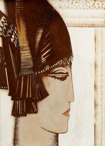 François Louis Schmied, 'Athena, c.1925'