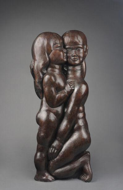William Zorach, 'Two Children (My Two Children), 2/6', 1922