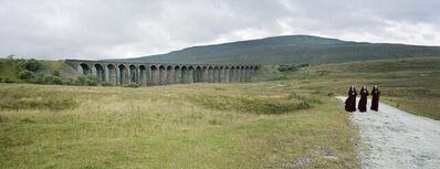 David Stewart, 'Nuns walking away from viaduct', 2008