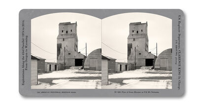 Jeff Brouws, 'Stereograph 190 (Nebraska) from American Industrial Heritage Series', 2015