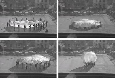 Ana Mendieta, 'Parachute', 1973