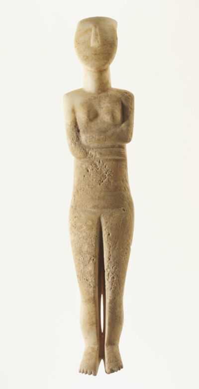 'Female Figure of the Early Spedos Type', 2700 -2500 B.C.