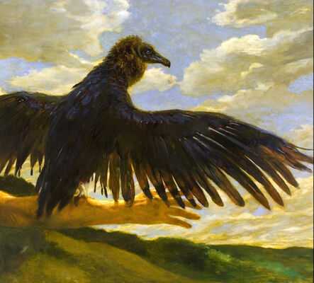 Jamie Wyeth, 'Me and My Vulture'