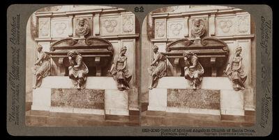 Bert Underwood, 'Tomb of Michelangelo in Church of Santa Croce', 1900