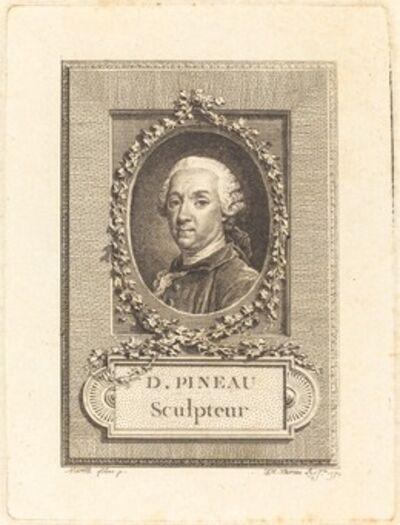 Jean-Michel Moreau after Pierre Paul Merelle, 'D. Pineau, Sculpteur', 1770