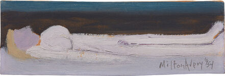 Milton Avery, 'Nude by the Sea', 1954