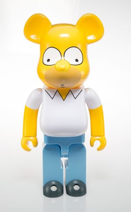 BE@RBRICK, 'Homer Simpson 1000%', 2017