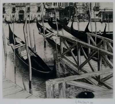 Wilfred Fairclough, 'Trahgetto, Venice', 1981