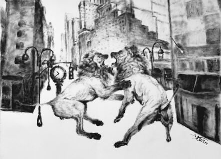 Kaan Saatçi, 'Clash of Lions', 2016