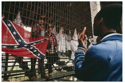 Nina Berman, 'F**K the KKK, New Jersey, 1990'