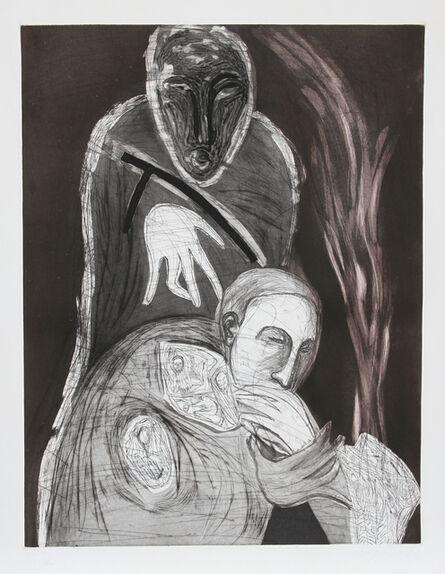 Mimmo Paladino, 'Ex-Giganti All'alba', 1982