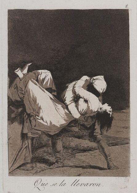 Francisco de Goya, 'They Carried Her Off! (Que se la llevaron!)', 1797-1798