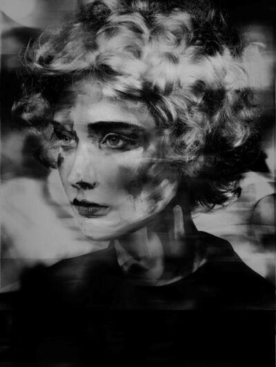 Valérie Belin, 'Lady_Round_Brush (Painted Ladies)', 2017