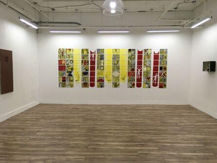 Sheila Barcik, 'Red Chutes', 2012