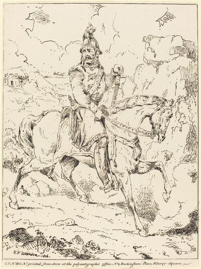 Edward Vernon Utterson, 'Knight in Armor on Horseback', 1806