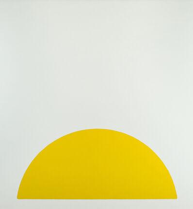 Walter Darby Bannard, 'Yellow Rose #1', 1963