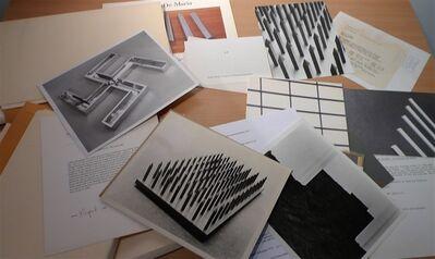Walter De Maria, 'Extensive Archive 1965-1999', 1965-1999