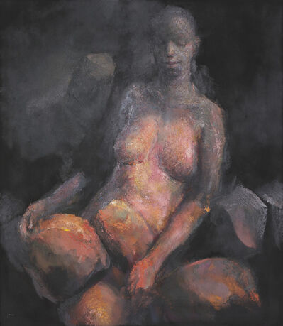 """Nurettin Erkan, '""""STONES, WOMEN, ASHES"""" - I', 2010"""