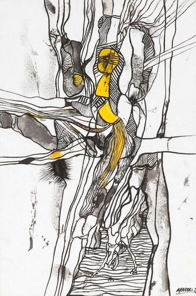 Agenore Fabbri, 'Composition 2', 1952