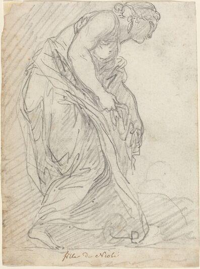Augustin Pajou, 'One of Niobe's Daughters', 1752/1756