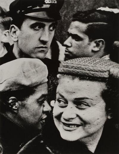 William Klein, 'Four Heads', 1955